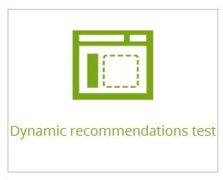 recomendación de productos personalizada