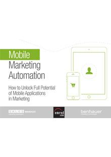 Mobile Marketing Automation