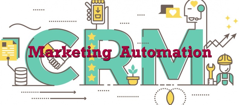 CRM Marketing automation ecommerce