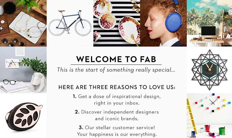 Seis buenos ejemplos de mensajes de bienvenida. Fab