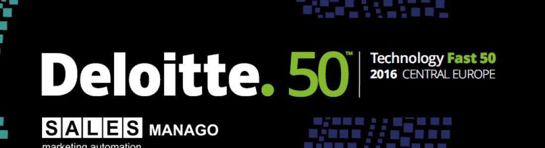 SALESmanago en el ranking de Deloitte Fast 50 de Europa Central