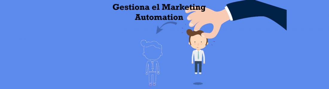 Planeando la gestión del marketing automation