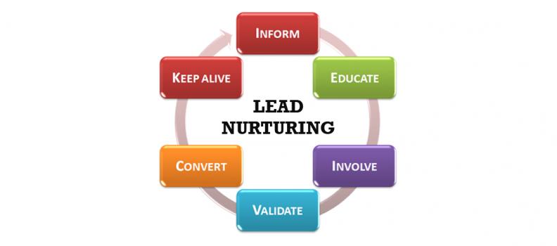 Crear campañas de lead nurturing