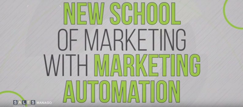 Vídeo de la nueva escuela de marketing con marketing automation