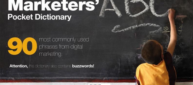Ebook diccionario de bolsillo de marketing digital