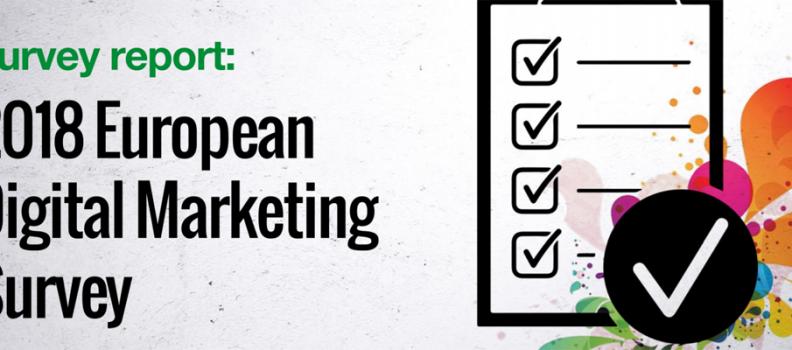 Encuesta europea de marketing digital 2018